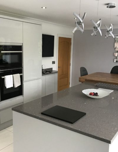 Integra Gloss Grey Mist Kitchen
